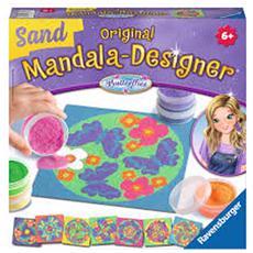 Mandala Desig. Sand Butterflies