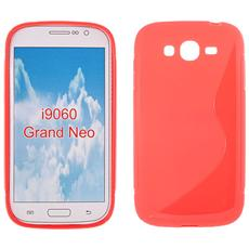 Cover S-Line in silicone Rosso per Samsung Galaxy Grand Neo Plus
