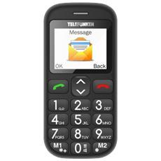 Cellulare Telefunken Tm110 Black