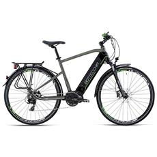 City Bike Elettrica Bottecchia Trekkin Uomo 28 - Motore Etr 3 - Shimano Tx800 - Nero - Grigio
