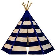 Tenda Teepee Lumo Con Led Blu E Bianca C052.103.01