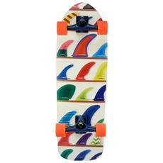 """Surfskate Wheels&fins 32"""""""" S01ss0005 Skateboard Tipo Surfskate Completo - Componenti Di Alta Qualità"""