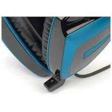 GHX4HS GHS512 Stereofonico Padiglione auricolare Nero, Blu cuffia e auricolare