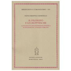 Il filosofo e le grottesche. La pluralità dell'esperienza estetica in Montaigne, Lomazzo e Bruno