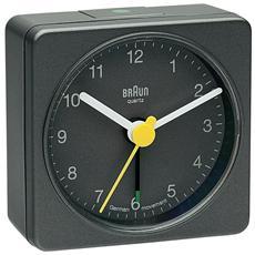 Orologio Sveglia al Quarzo Colore Grigio - Modello BNC 002