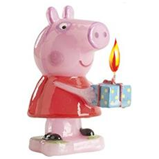 Peppa Pig Candelina Compleanno