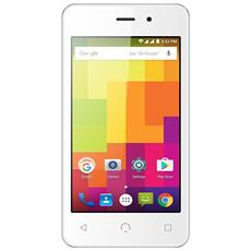 "A1 Bianco 4 GB Dual Sim Display 4"" Slot Micro SD Fotocamera 2 Mpx Android Italia"
