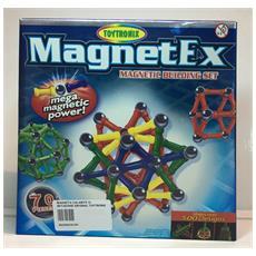 Magnetex - Set Di Magneti - 70 Pezzi