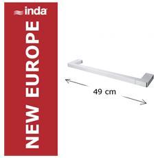 New Europe Portasalviette 49x9x2, Cromo, A4918b