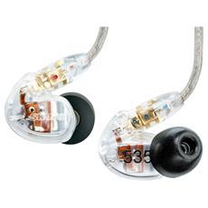 SE535-CL, Intraurale, Interno orecchio, 18 - 19000 Hz, Cablato, 1,62m, Oro