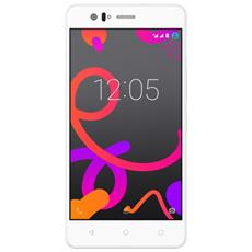 "Aquaris M5 Bianco 16 GB 4G / LTE Dual Sim Display 5"" Full HD Slot Micro SD Fotocamera 13 Mpx Android Italia"