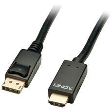 41704, DP, HDMI, Maschio / maschio, Nero, 3840 x 2160 Pixel