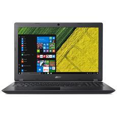 "Notebook Aspire A315-51-32ZR Monitor 15.6"" HD Intel Core i3-6006U Ram 4GB Hard Disk 500GB 1xUSB 3.0 Windows 10 Home"
