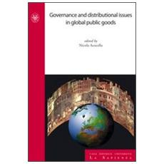 Governance and distributional issues in global public goods