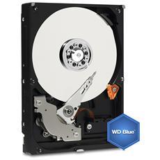 """Hard Disk Interno WD Blue 3 TB Interfaccia Sata III 6 Gb / s 3.5"""" Buffer 64 MB 5400 RPM"""