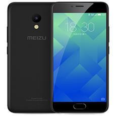 "M5 Nero 32 GB 4G/LTE Dual Sim Display 5.2"" HD Slot Micro SD Fotocamera 13 Mpx Android Italia"