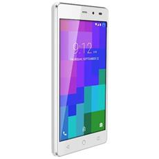 "A3L Bianco 8 GB 4G/LTE Dual Sim Display 5"" Slot Micro SD Fotocamera 5 Mpx Android Italia"