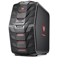 Pc Desktop Predator G6-710 Intel Core i7-7700K Quad Core 4.2 GHz Ram 16GB Hard Disk 1TB SSD 128GB Nvidia GeForce GTX 1070 8GB DVD Super Multi 6xUSB 3.0 Windows 10 Home
