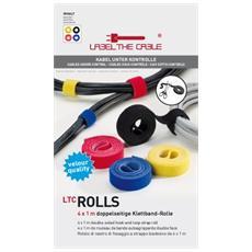 Rolls, Nero, Blu, Rosso, Giallo, 100 cm, 1,6 cm