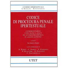 Codice di procedura penale ipertestuale. Con CD-ROM