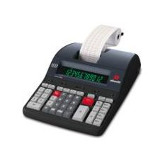 Calcolatrice Scrvente Professionale 12 Cifre LCD Stampa a Nastro 2 colori