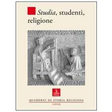 Studia, studenti, religione