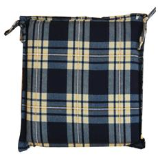 Cuscini per sedute scozzese 38 x 41 confezione da 6 pz