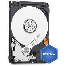 """Hard Disk Interno WD Blue 2 TB 2.5"""" Interfaccia Sata III 6 Gb / s Buffer 8 MB 5200 Rpm"""