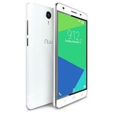 "N5L Bianco 8 GB 4G / LTE Dual Sim Display 5.5"" Slot Micro SD Fotocamera 8 Mpx Android Italia"