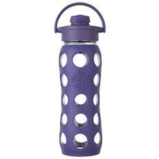 Borraccia In Vetro Flip Cap Royal Purple 650ml