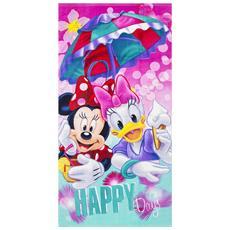 Mickey Mouse Telo Da Mare Bambini (70x140cm) (rosa)