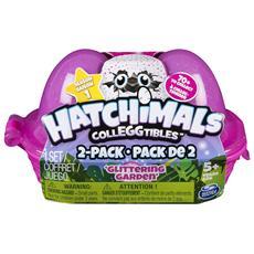 Collezionabili Porta Uova da 2 Hatchimals Personaggi Assortiti Multicolore