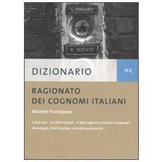 Dizionario ragionato dei cognomi italiani