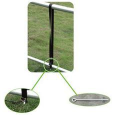 Kit fissaggio a terra per trampolino