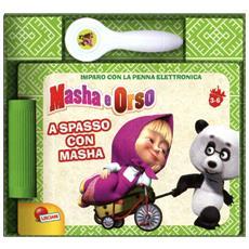 A spasso con Masha. Masha e Orso. Libro quiz con penna elettronica. Con gadget