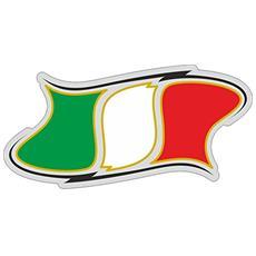 Sticker Adesivo 3D Italia Sagomata