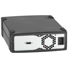 Tape Drive LTO-5 Tandberg Data 3520-LTO - 1,50 TB (Nativi) / 3 TB (Compressi) - Nero - 3 Anno / i Warranty - SCSI - 1/2H Altezza - Esterno - 140 MBps Native - 280 MBps Compressed - Linear Serpentine