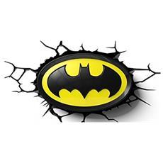 Lampada da Muro 3D - Batman Logo