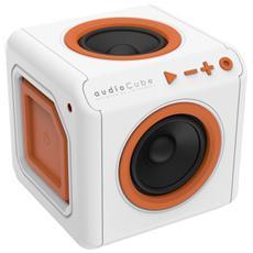 Speaker Audio Portatile AudioCube Portable Bluetooth colore Bianco