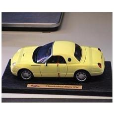 50336 Ford Thunderbird Closed Yellow 1/18 Modellino