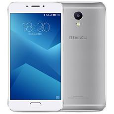 "M5 Note Argento 16 GB 4G/LTE Dual Sim Display 5.5"" Full HD Slot Micro SD Fotocamera 13 Mpx Android Italia"