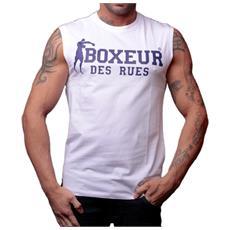 T-shirt Boxeur Des Reus Giromanica Uomo Xl Bianco Blu