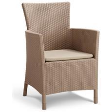 Sedie Da Pranzo Iowa Color Cappuccino 223929