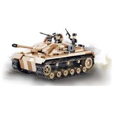Prodotto In Circa Circa 8000 Esemplari Stug Iii Ausf. G. Inizialmente, Il Suo Scopo Era Quello Di Appoggiare I Soldati Di Fanteria E Solo Successivamente Venne Munito Di Cannone Particolarmente Potente, In Grado Di Contrastare I Carri Armati Sovietic