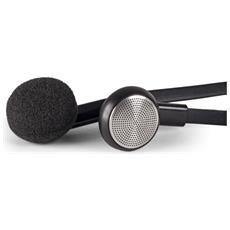 6943 Auricolare Stereofonico Cablato Nero auricolare per telefono cellulare