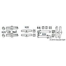 kit K 25 per cavi C2 / C7 / C8