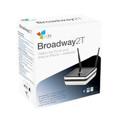 PCTV Broadway Sintonizzatore DVB-T Wireless - USB 2.0 e WiFi - Colore Nero