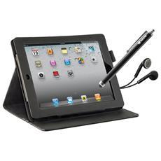 Ipad Mini Case+2xscreen Prot Stylus Pen+earphones&mic In