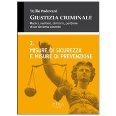 Giustizia criminale. Vol. 2: Misure di sicurezza e misure di prevenzione.