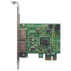 Scheda di Rete Alluminio Connessione Cavo 600 Mbit / s 10 W RR622